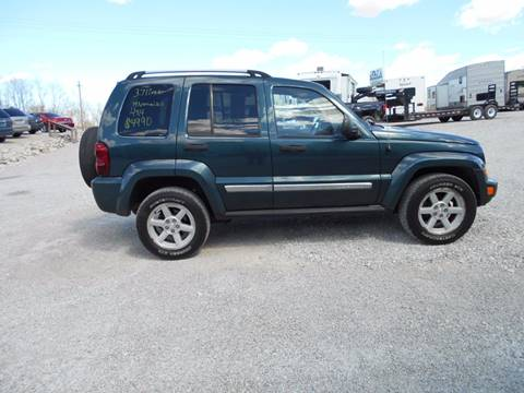 2005 Jeep Liberty for sale in Rockville, IN