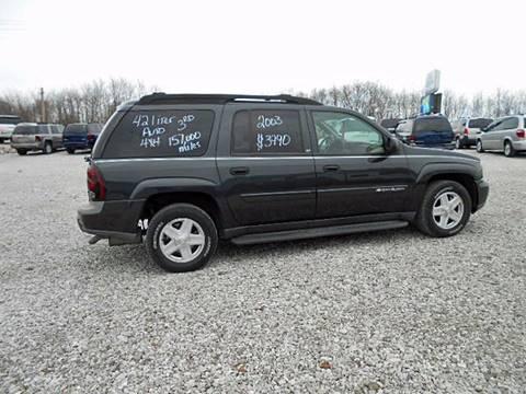 2003 Chevrolet TrailBlazer for sale in Rockville, IN