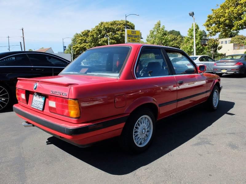 1988 BMW 3 Series 325is 2dr Coupe - El Cerrito CA