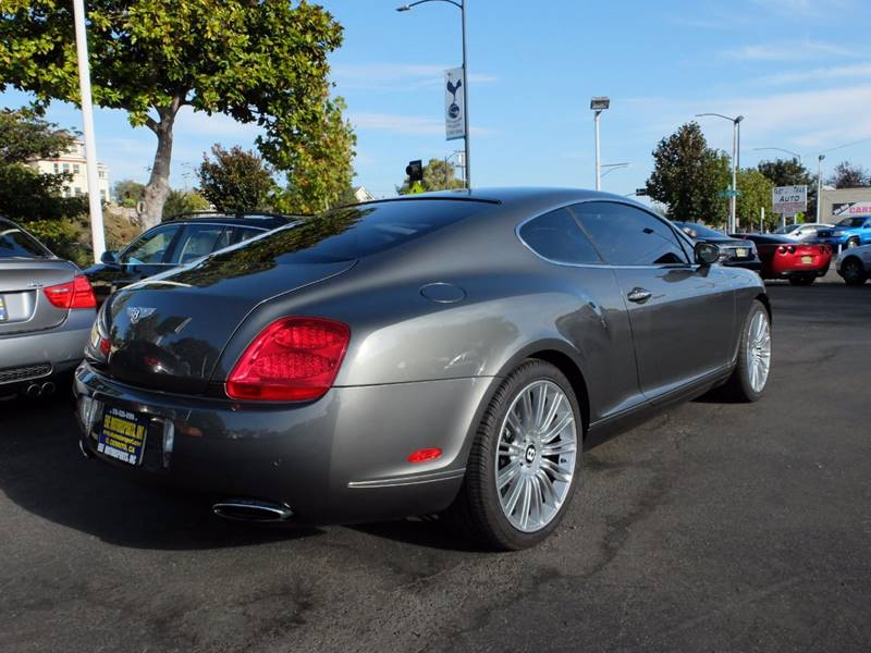 2009 Bentley Continental GT Speed AWD 2dr Coupe - El Cerrito CA