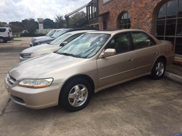 2000 HONDA ACCORD EX V6 4DR SEDAN gold this honda accord ex is loaded with leather and a sunroof
