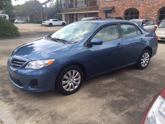 2013 TOYOTA COROLLA LE 4DR SEDAN 4A blue this toyota corolla le is like new in and out gas saver