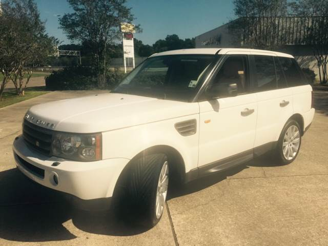 2008 LAND ROVER RANGE ROVER SPORT HSE 4X4 4DR SUV white 2008 land rover range rover sport drive