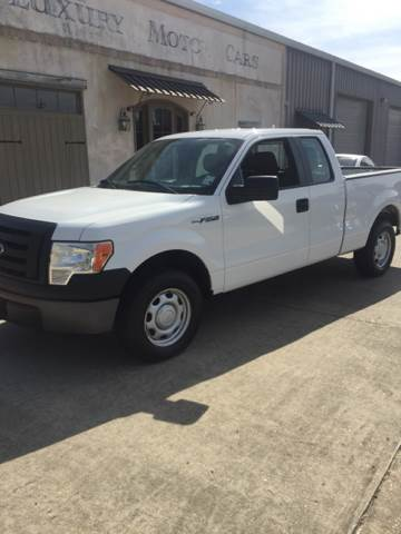 2010 FORD F-150 XL 4X2 4DR SUPERCAB STYLESIDE 6 white super clean work truck great tires every