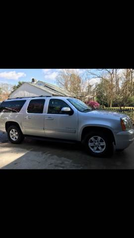 2014 GMC YUKON XL SLT 1500 4X2 4DR SUV silver 2014 gmc yukon xl slt excellent condition leather
