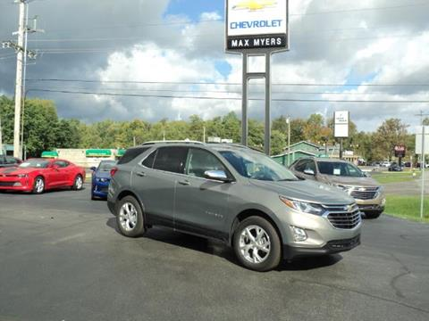 2018 Chevrolet Equinox for sale in Middlebury, IN