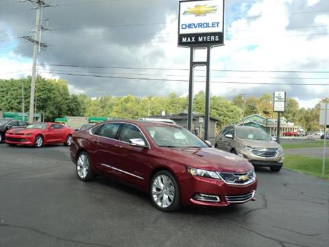 2018 Chevrolet Impala for sale in Middlebury, IN