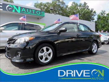 2012 Toyota Corolla for sale in Davie, FL