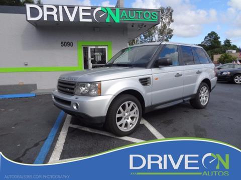2007 Land Rover Range Rover Sport for sale in Davie, FL