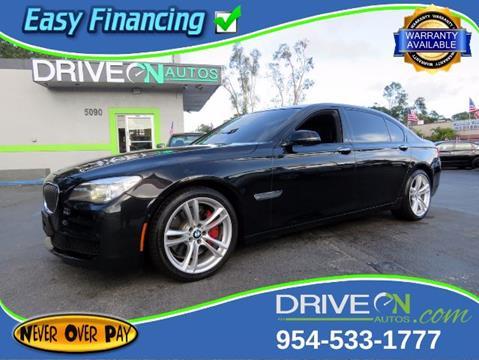 2014 BMW 7 Series for sale in Davie, FL