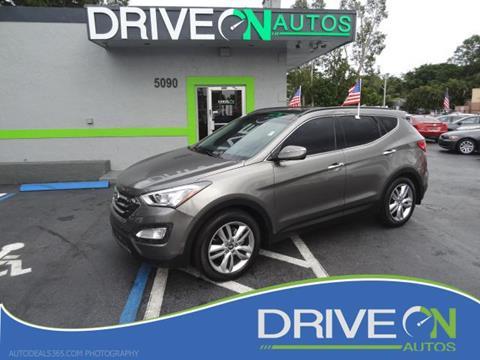 2015 Hyundai Santa Fe Sport for sale in Davie, FL
