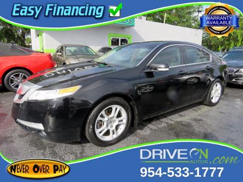 2009 Acura TL for sale in Davie, FL