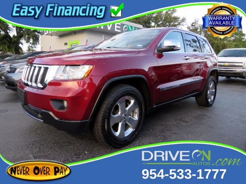 2013 Jeep Grand Cherokee For Sale >> 2013 Jeep Grand Cherokee Limited In Davie Fl Drive On
