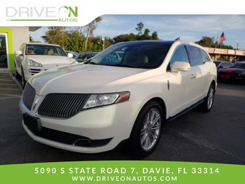 2013 Lincoln MKT for sale in Davie, FL