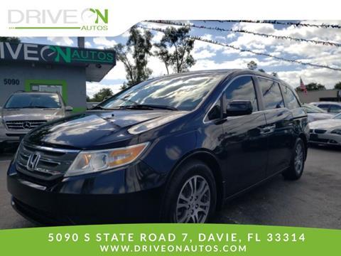 2011 Honda Odyssey for sale in Davie, FL