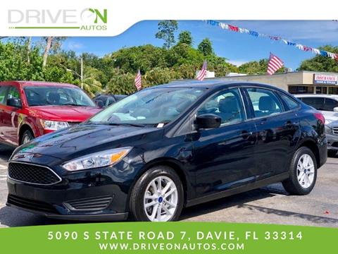 2018 Ford Focus for sale in Davie, FL