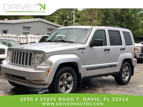 2008 Jeep Liberty for sale in Davie, FL