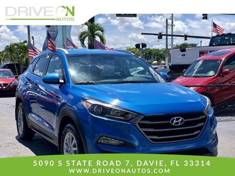 2016 Hyundai Tucson for sale in Davie, FL