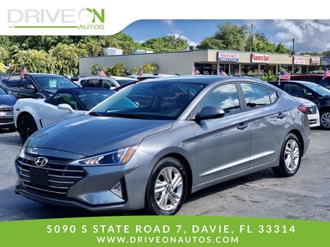 2019 Hyundai Elantra for sale in Davie, FL