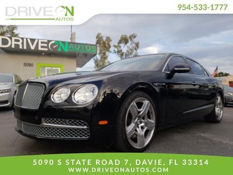 2014 Bentley Flying Spur for sale in Davie, FL