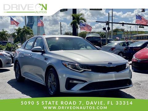 2020 Kia Optima for sale in Davie, FL