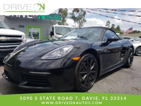 2017 Porsche 718 Boxster for sale in Davie, FL
