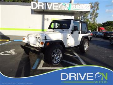 2006 Jeep Wrangler for sale in Davie, FL