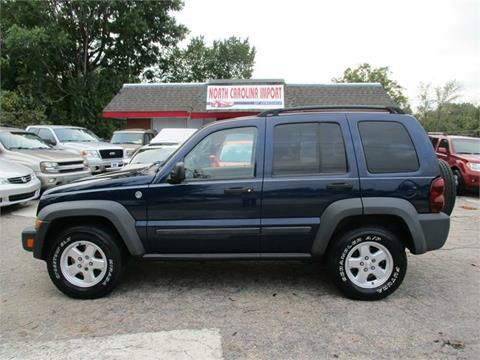 2007 Jeep Liberty for sale in Raleigh, NC