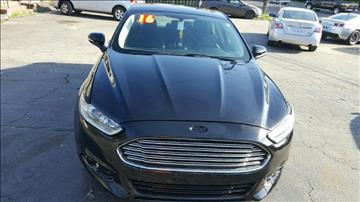 2016 Ford Fusion for sale in Nashville, TN