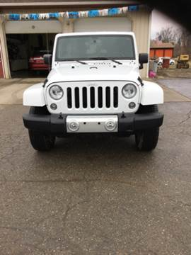 2015 Jeep Wrangler Unlimited for sale at Stewart's Motor Sales in Cambridge/Byesville OH