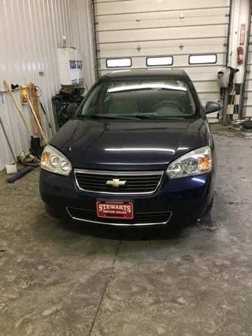 2006 Chevrolet Malibu for sale at Stewart's Motor Sales in Cambridge/Byesville OH
