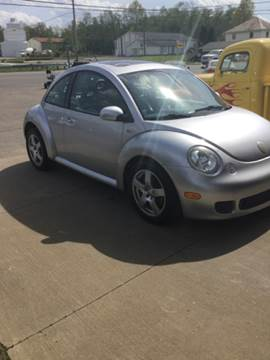 2002 Volkswagen New Beetle for sale at Stewart's Motor Sales in Cambridge/Byesville OH