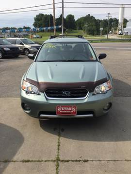 2006 Subaru Outback for sale at Stewart's Motor Sales in Byesville OH