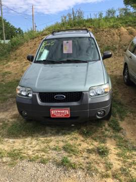 2005 Ford Escape for sale at Stewart's Motor Sales in Byesville OH