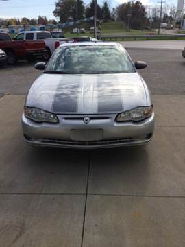 2005 Chevrolet Monte Carlo for sale at Stewart's Motor Sales in Cambridge/Byesville OH