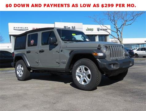 2018 Jeep Wrangler Unlimited for sale in Nicholasville, KY