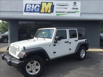 2012 Jeep Wrangler Unlimited for sale in Nicholasville, KY