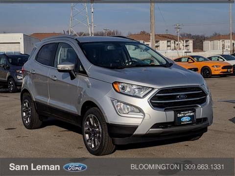 2018 Ford EcoSport for sale in Bloomington, IL