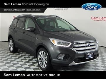 2017 Ford Escape for sale in Bloomington, IL