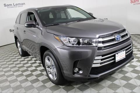 2019 Toyota Highlander Hybrid for sale in Bloomington, IL