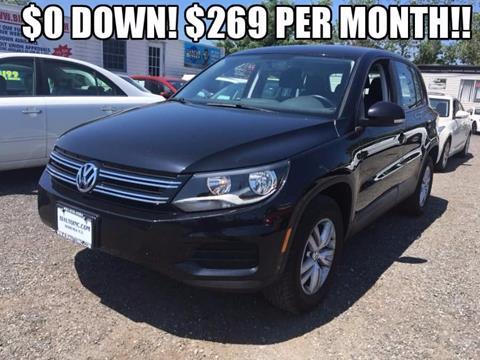 2014 Volkswagen Tiguan for sale in Bohemia NY