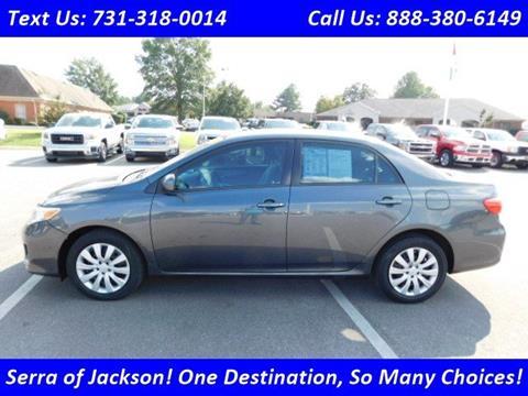 2012 Toyota Corolla for sale in Jackson, TN