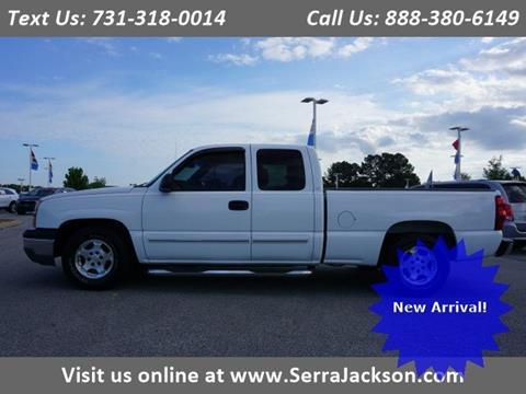 Serra Chevrolet Jackson Tn >> 2003 Chevrolet Silverado 1500 For Sale In Jackson Tn