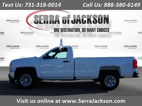 Serra Chevrolet Jackson Tn >> 2018 Chevrolet Silverado 1500 For Sale In Jackson Tn