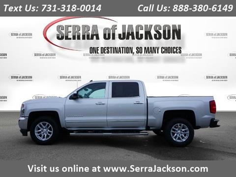Serra Chevrolet Jackson Tn >> 2018 Chevrolet Silverado 1500 For Sale In Jackson Tn