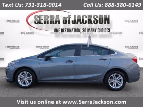 2019 Chevrolet Cruze for sale at Serra Of Jackson in Jackson TN