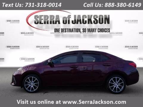 2017 Toyota Corolla for sale at Serra Of Jackson in Jackson TN