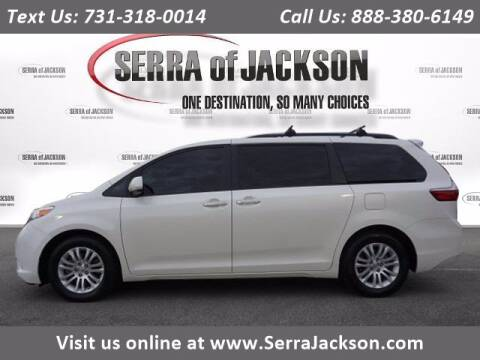 2017 Toyota Sienna for sale at Serra Of Jackson in Jackson TN