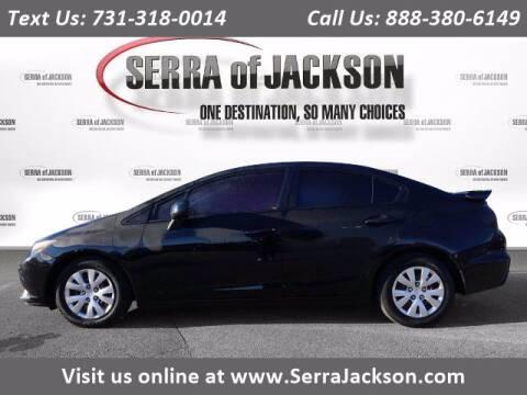 2012 Honda Civic for sale at Serra Of Jackson in Jackson TN