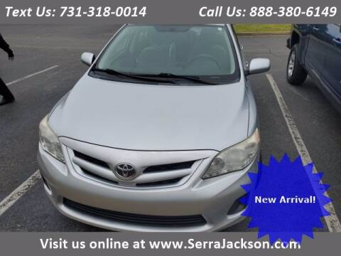 2011 Toyota Corolla for sale at Serra Of Jackson in Jackson TN